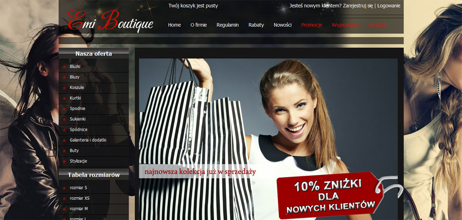Sklep internetowy Emi Boutique