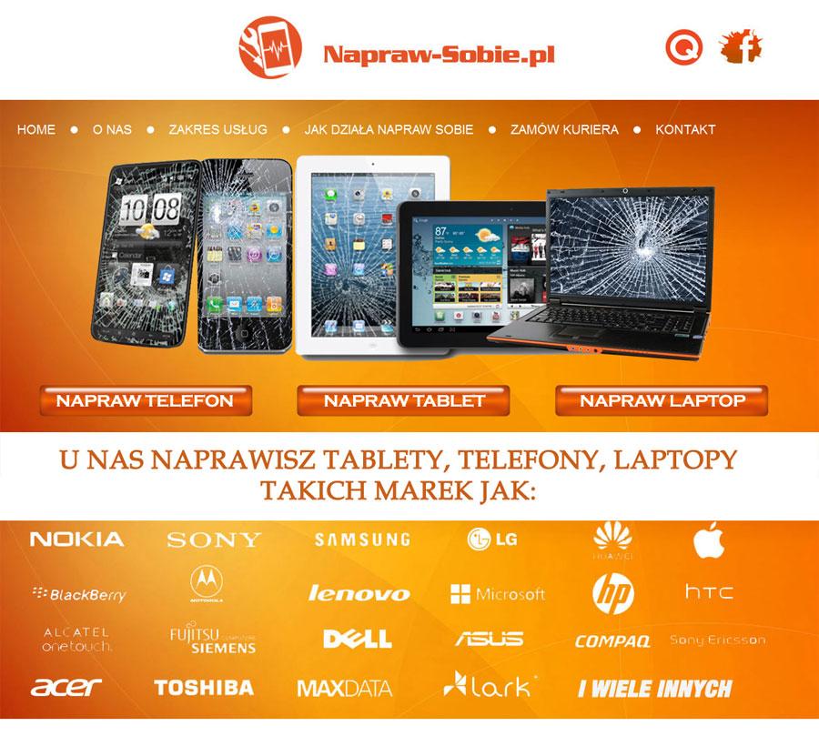 Strona internetowa Napraw-Sobie.pl